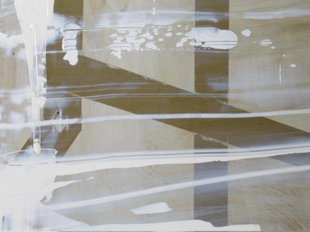 © Wilhelm Roseneder. Guides, 1998-2003. Ölmalerei auf Aluminium/Oil painting on aluminium, 104x150