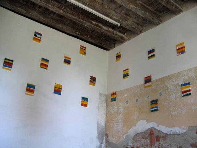 © Wilhelm Roseneder. Items 1-17, 2006. Lack auf Leinen/Varnish on canvas, 24x18 cm. Pilastro di Bonavigo, Verona, Italy, 2006