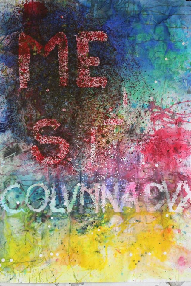 © Wilhelm Roseneder. Römische Landschaft III/Roman landscape III, 2011. Aquarell, Tusche, chinesische Reibtusche, /Watercolour, ink, Chinese ink, 1.20x90 cm. Artist in Residence. Azienda Colonna. Cervinara. Paliano, Italy 2011