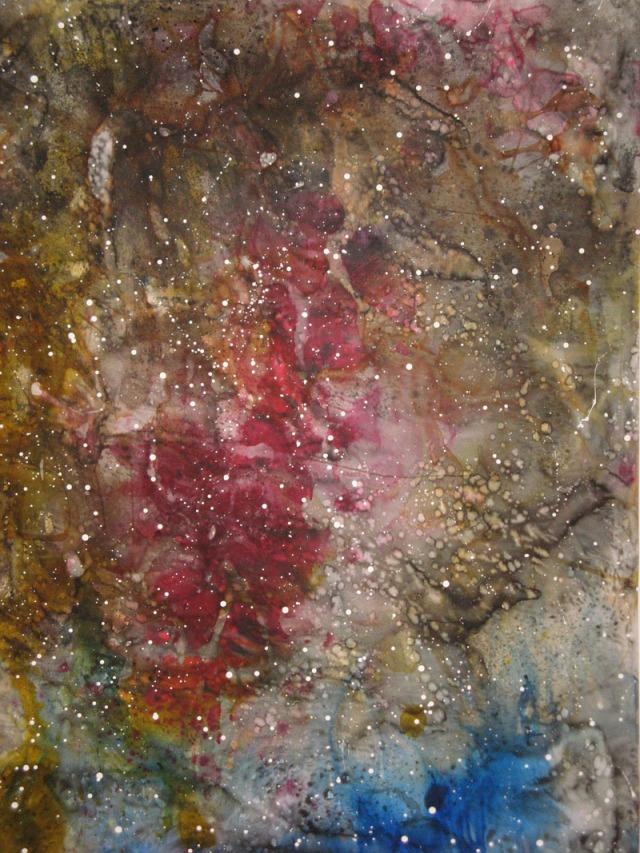 © Wilhelm Roseneder. Sternenbild II/Constellation II, 2010. Aquarell, Tusche, Chinesische Tusche, 2.00