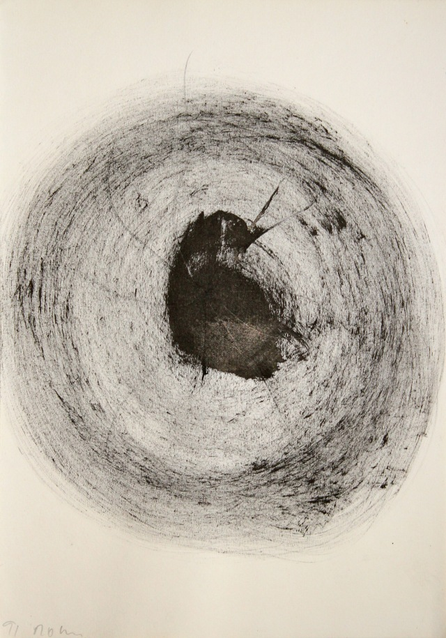 © Wilhelm Roseneder. Das Tier/The animal, 1991. Tusche, Bleistift auf Papier/Ink, pencil on paper, 29,7x20,9 cm