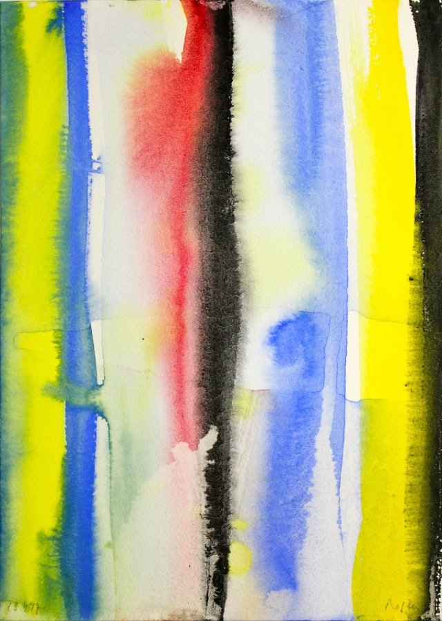 © Wilhelm Roseneder. Aquarell auf Papier/Watercolor on paper, 1997. 24x17 cm