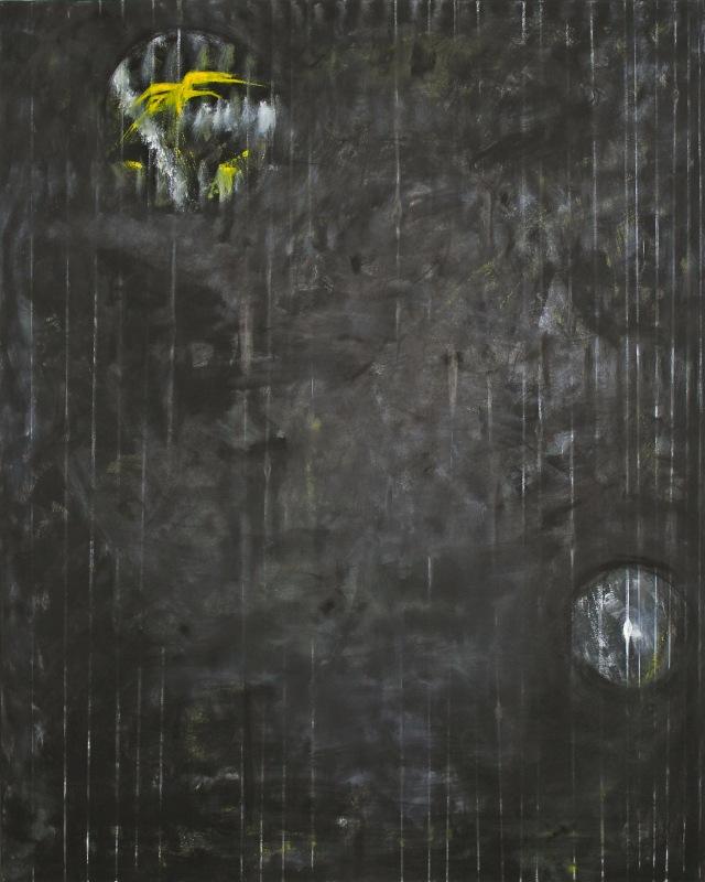 © Wilhelm Roseneder. Spiritus africus, 1991, Öl auf Leinen/Oil on linen, 150x120cm