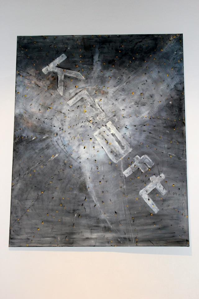 © Wilhelm Roseneder. Kraft, 1991. Öl auf Leinen/Oil on canvas, 150x120 cm